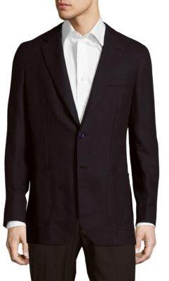 BrioniSolid Wool Sport Coat