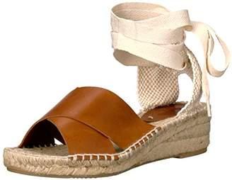 Soludos Women's Criss Cross Demi Wedge Sandal Espadrille