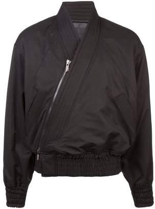 D.Gnak diagonal zip bomber jacket