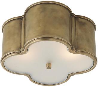 Visual Comfort & Co. Basil Flush Mount - Brass