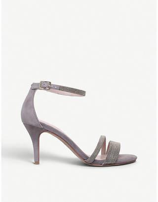 Carvela Genesis beaded-trim suede sandals
