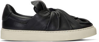 Ports 1961 Black Knotted Slip-On Sneakers