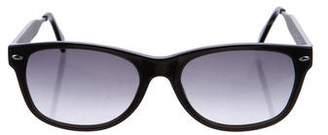 Linda Farrow Wayfarer Tinted Sunglasses