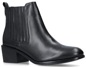 Nine West Black 'Create' Low Heel Ankle Boots