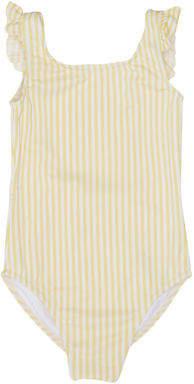 Billabong New Girls Soleil Stripe One Piece Polyester Elastane Yellow
