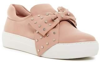J/Slides Alive Leather Slip-On Sneaker