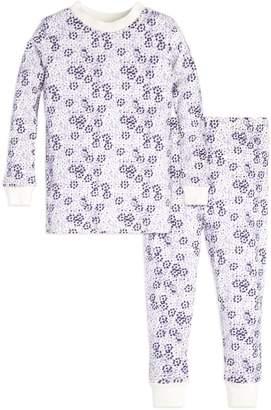Burt's Bees Dotty Blooms Organic Toddler Pajamas