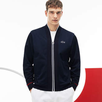 Lacoste Men's French Sporting Spirit Edition Tech Piqué Zip Sweatshirt