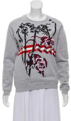Kenzo Knit Embroidered Sweatshirt