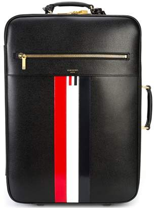 Thom Browne Striped Leather Check-In Soft Case
