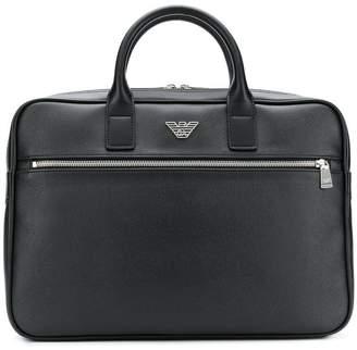 Emporio Armani logo laptop case