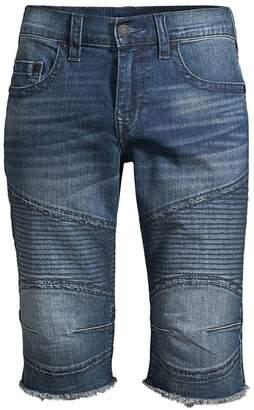 True Religion Ricky Moto Denim Shorts