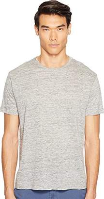 ATM Anthony Thomas Melillo Men's Linen Relaxed Fit Crew Neck T-Shirt