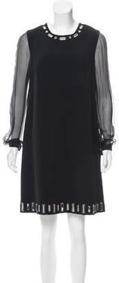 Andrew Gn Embellished Mini Dress