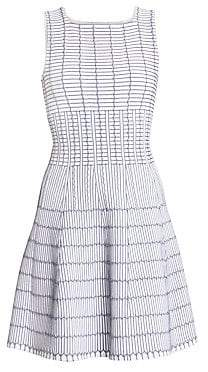 Alaà ̄a Alaà ̄a Women's Pagode Pintuck A-Line Dress