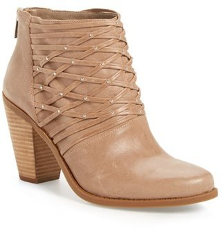 Women's Jessica Simpson 'Claireen' Woven Bootie $138.95 thestylecure.com
