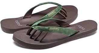 Toesox Women's Zuma Flat Size 10