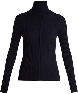 Chloé Ribbed roll-neck sweater