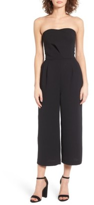 Women's Trouve Strapless Jumpsuit $99 thestylecure.com