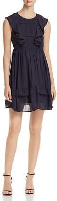 Vero Moda Suman Sleeveless Ruffle-Trim Dress