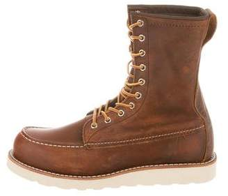 Red Wing Shoes Copper Moc-Toe Boots w/ Tags