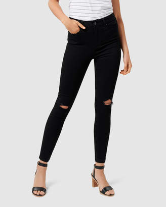 Forever New Cleo High-Rise Ankle Grazer Jeans