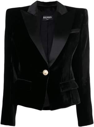 Balmain classic fitted blazer