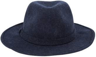 Saks Fifth Avenue Collection Blue Wool Hats