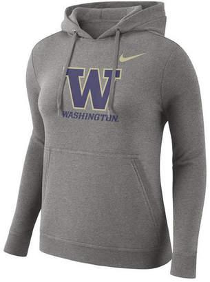 Nike Women's Washington Huskies Club Hooded Sweatshirt