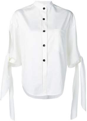 Petar Petrov tied sleeve shirt