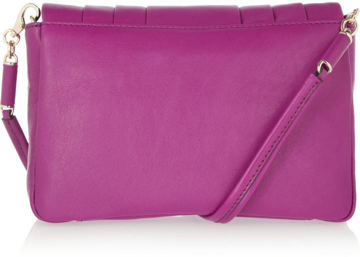 Anya Hindmarch Mini Gracie pleated leather shoulder bag