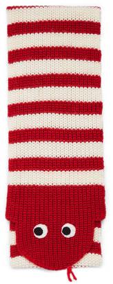Children's wool snake pattern scarf $325 thestylecure.com