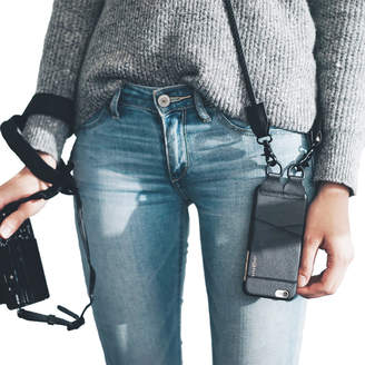 "Kyte&Key Leather iPhone Case & Crossbody Charging Cable ""Alex"""