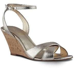 Women's Nine West Kami Ankle Strap Wedge Sandal $79.95 thestylecure.com