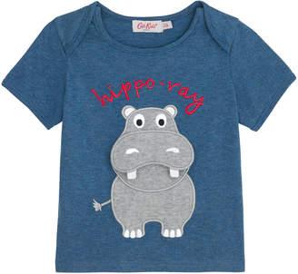 Cath Kidston Baby Hippo T-shirt