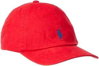 Polo Ralph Lauren (ポロ ラルフ ローレン) - (ポロ ラルフ ローレン) POLO RALPH LAUREN キッズキャップ 323552489 ORL0069-003 003-RED F