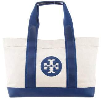 Tory Burch Logo Beach Tote