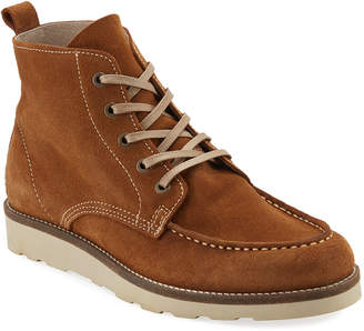 Supply Lab Robbie Apron-Toe Suede Rugged Boots