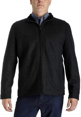London Fog Tower By Men's Tower by Regular-Fit Wool-Blend Fleece Hipster Jacket