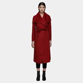 Mackage Mai Long Wrap Wool Coat