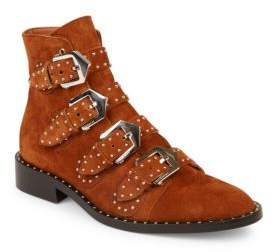 Givenchy Elegant Studded Suede Booties