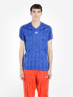 0ddddca7 Alexander Wang Adidas By ADIDAS BY MEN'S BLUE SHORT SLEEVE T-SHIRT