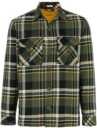 Tomas Maier multi plaid field jacket