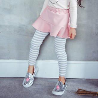 JJ Park Striped Skirt Leggings