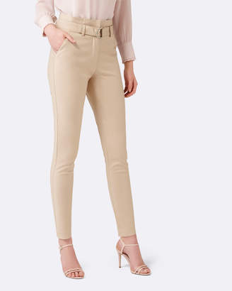 Forever New Talia Tapered Paper Bag Pants