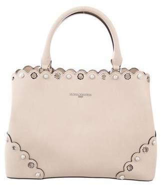 Karl Lagerfeld Textured Leather Shoulder Bag
