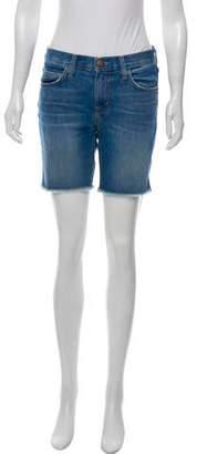 Current/Elliott Knee-Length Denim Shorts