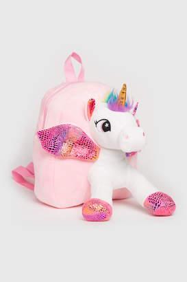 Ardene Plush Unicorn Backpack