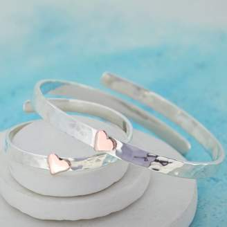 Carole Allen Silver Jewellery Mummy And Baby Personalised Bangles