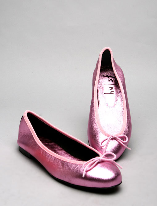 French Sole Dream in Metallic Pink
